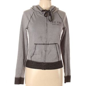 Victoria's Secret Love Pink Grey Jacket Size XS
